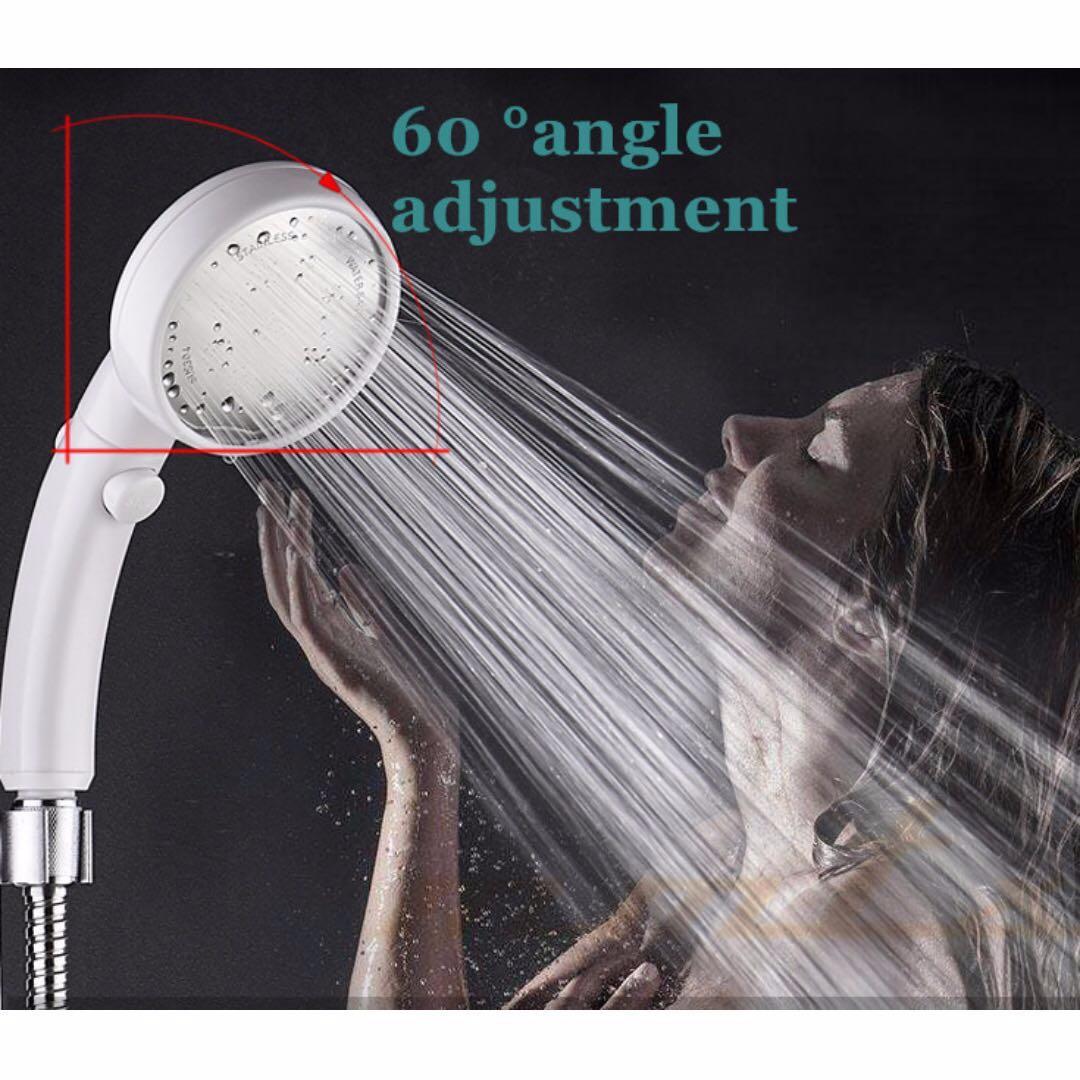 360 Rotatable High Pressure Showerhead Handheld Shower Head