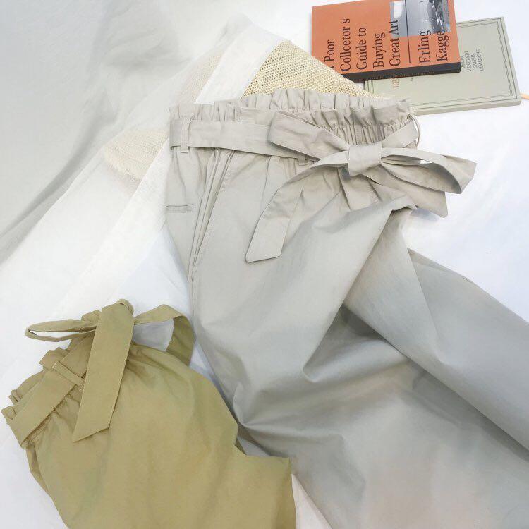 韓國☕️淺灰色氣質百搭休閒中長半身裙 (全新僅試穿)