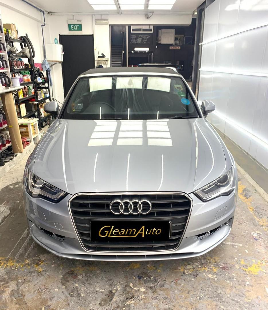 🇩🇪 Full 9H Ceramic/ Crystal Glass Coating and Polishing package 🇩🇪 Top Quality Germany products