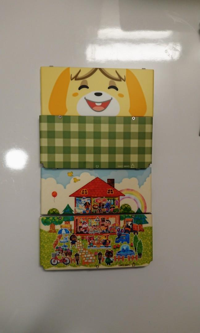 ANIMAL CROSSING NEW LEAF NINTENDO 3DS COVER PLATES CASE