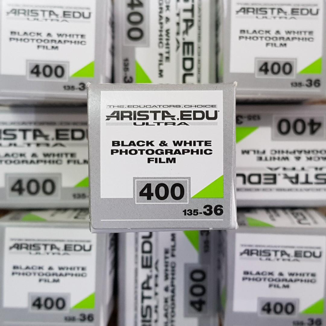 Arista Edu Ultra 400 Fresh Film Roll ( Black and White )