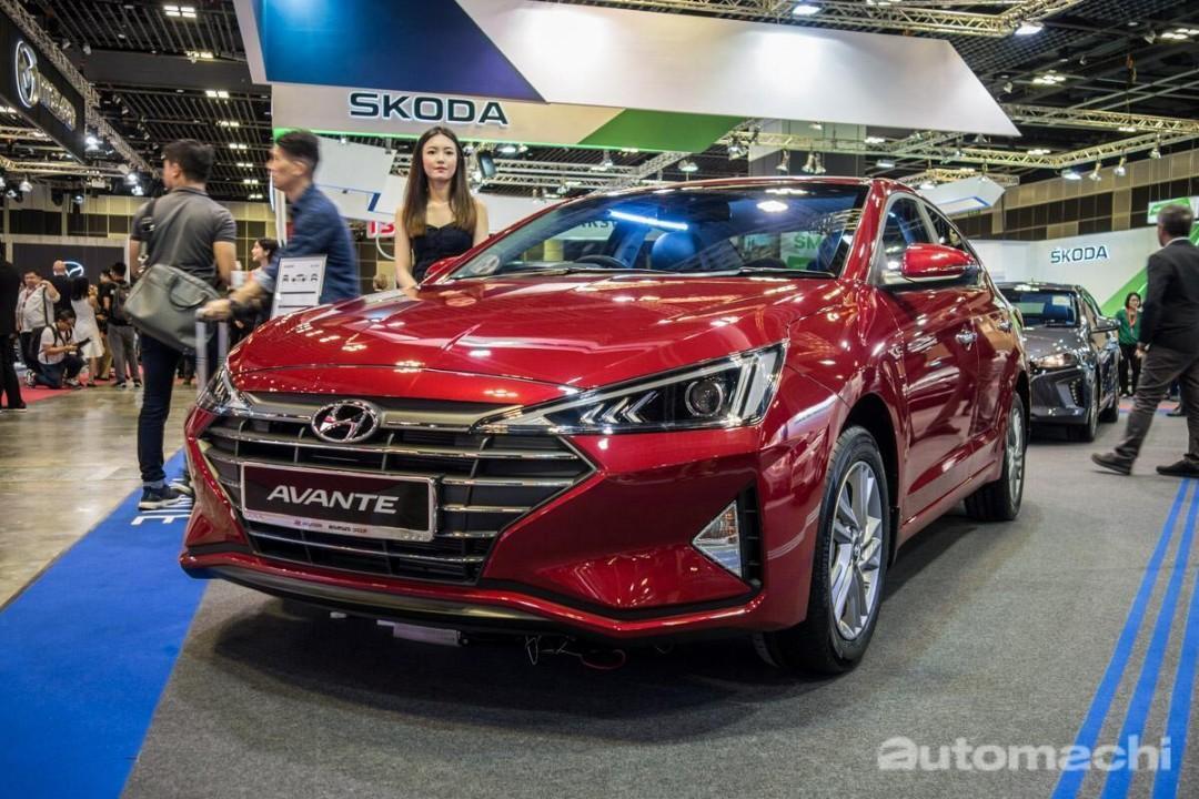 Brand New Cheap Hyundai Avante 2019 Long Short Term Grab Gojek PHV Rental Deal
