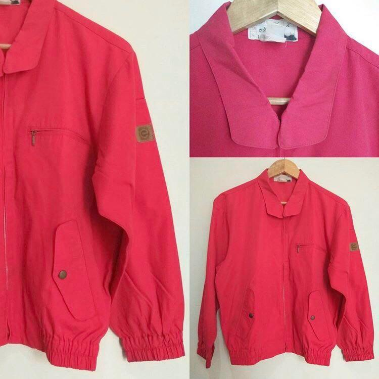 #BAPAU Red jacket semi bomber