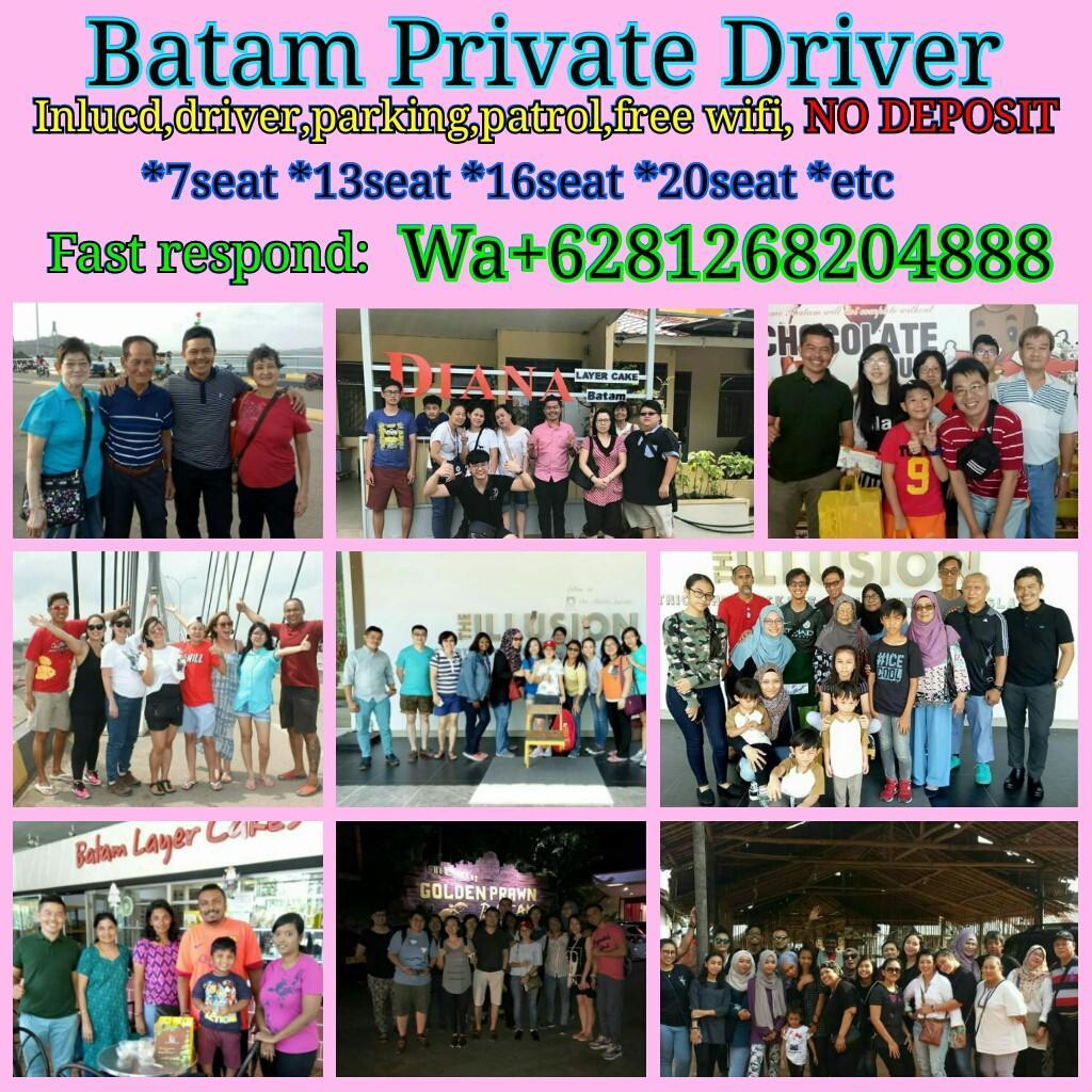BATAM PRIVATE DRIVER http://www.wasap.my/+6281268204888/Hello,Avin