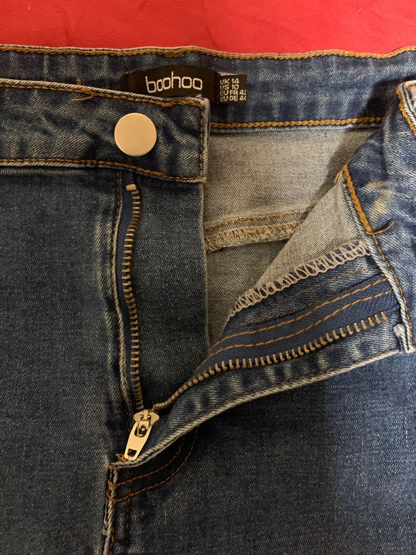 Boohoo Jeans (size14)