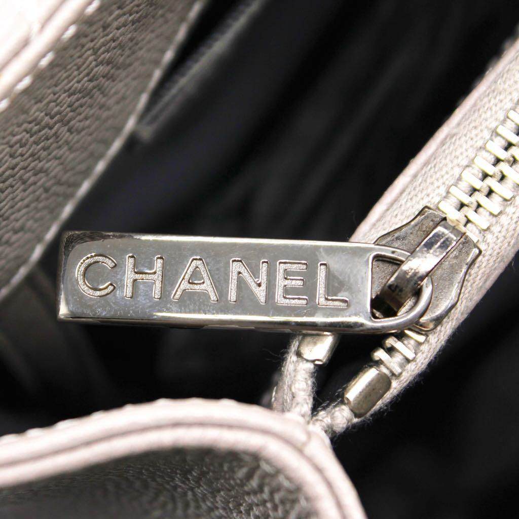 CHANEL Caviar Grand Shopping Tote GST