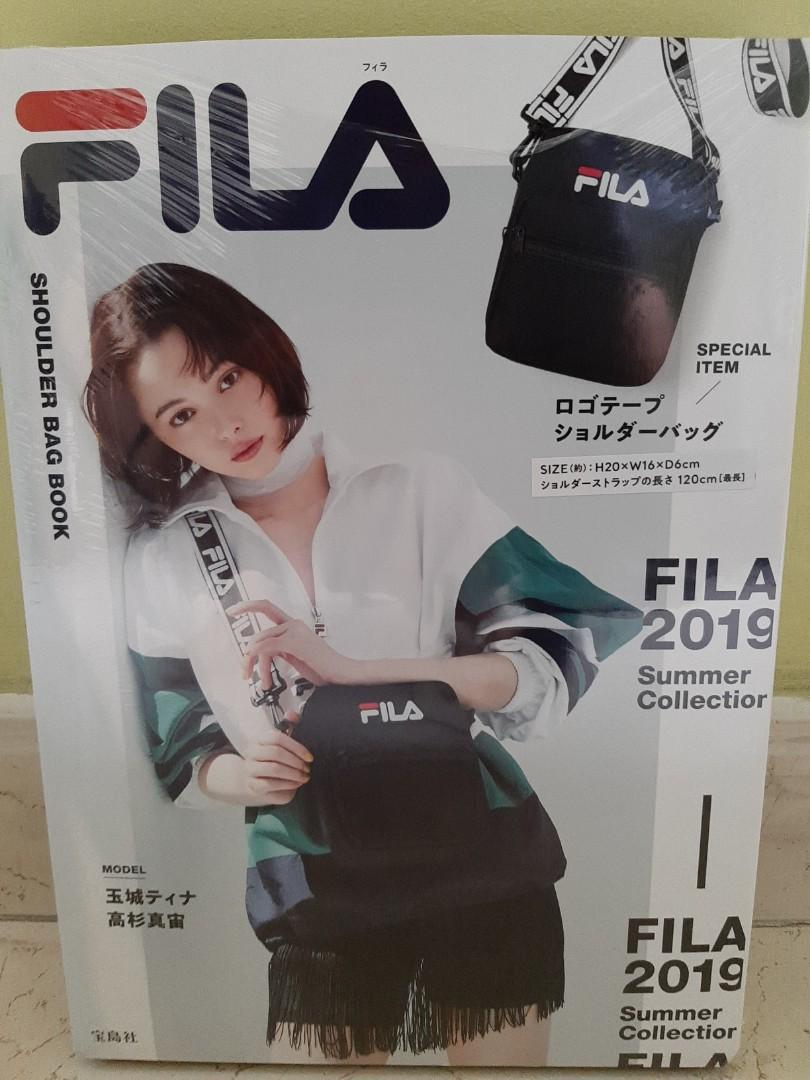 FILA 2019 Magazine Summer Collection, Women's Fashion, Bags ...