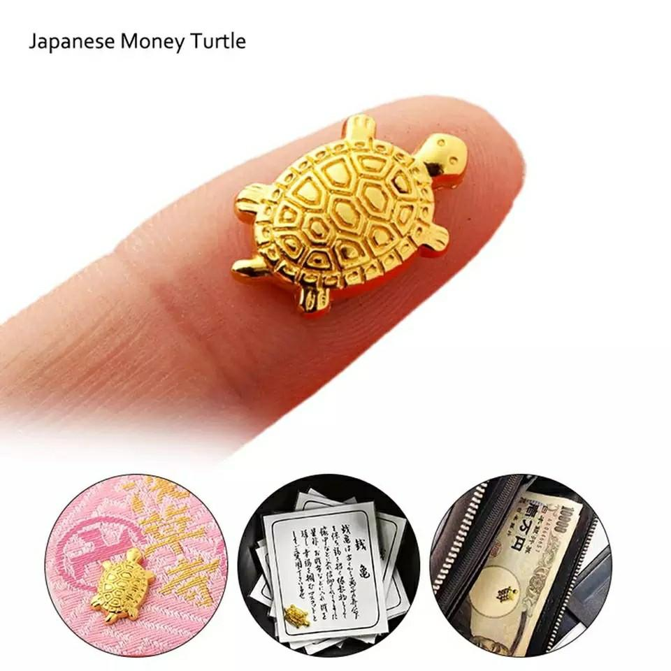 Gold Lucky Turtle