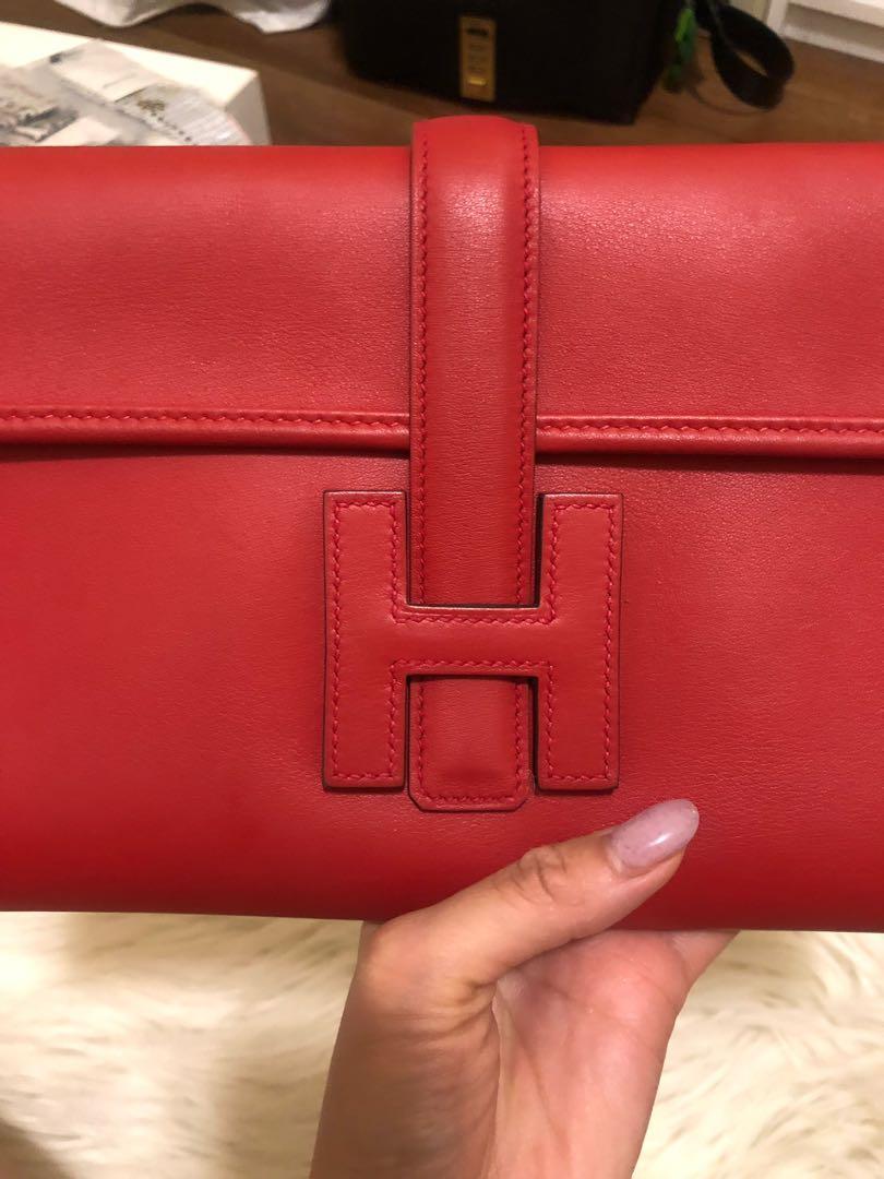 Hermes jige clutch wallet