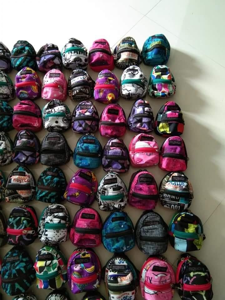 Jansport mini backpack style coin purse