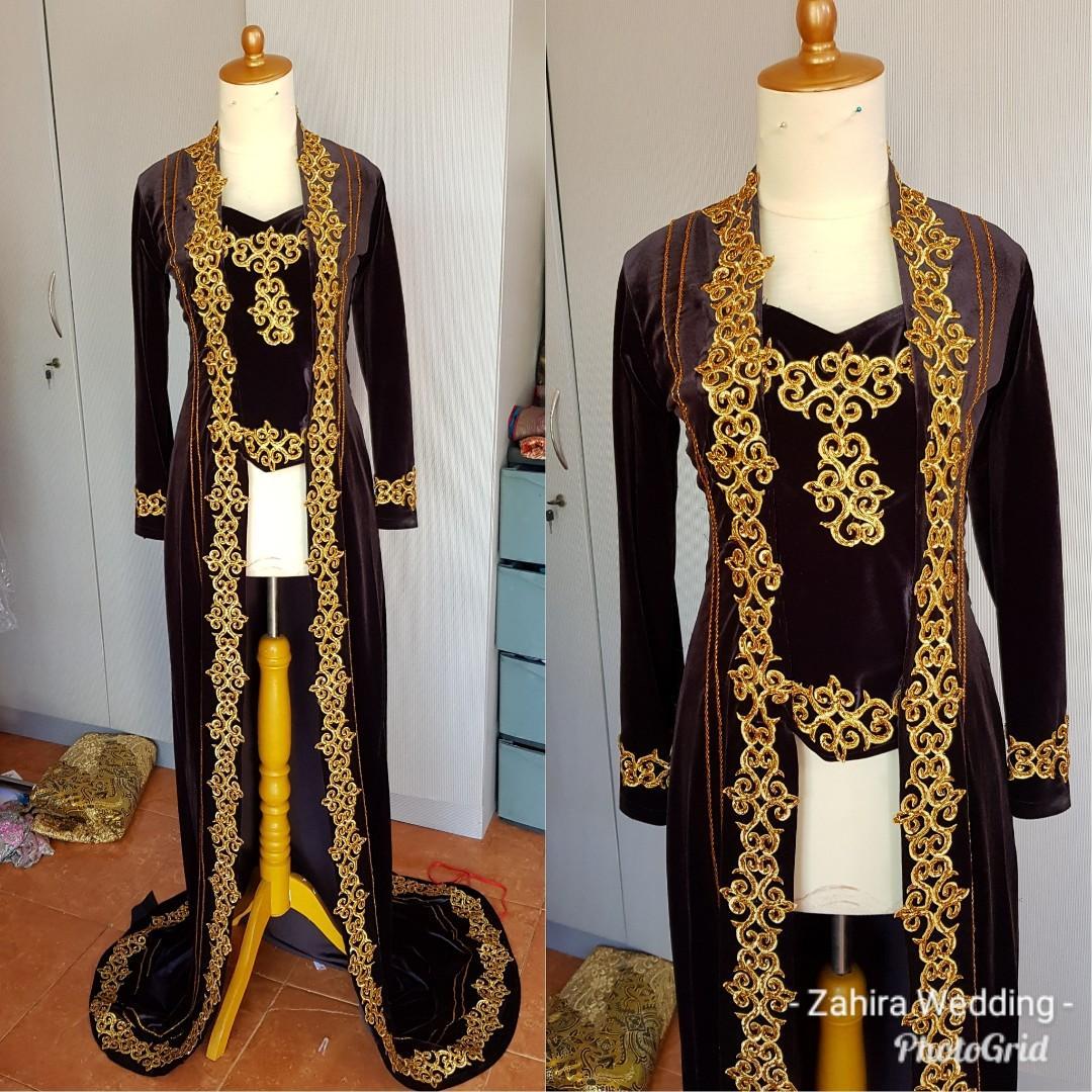 Kebaya Bludru Hitam Pengantin Women S Fashion Women S Clothes