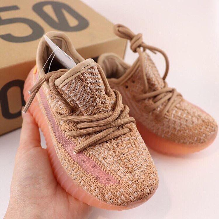 Kids Yeezy Boost 350 V2 Clay, Babies