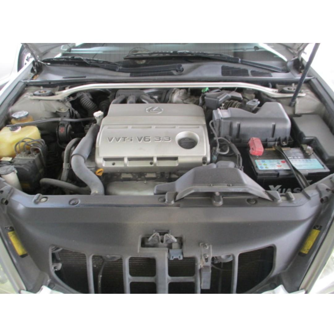 LEXUS 05年-ES330 銀色 漂亮車 限時優惠只到月底 非泡水.重大事故.調錶車 超貸全額貸99%過件