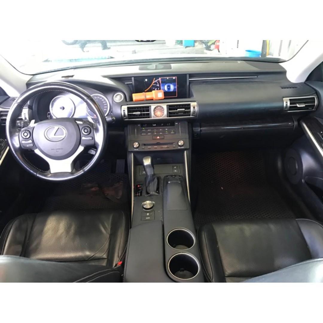 LEXUS 15年-IS250 淺棕色 漂亮車 限時優惠只到月底 非泡水.重大事故.調錶車 超貸全額貸99%過件!
