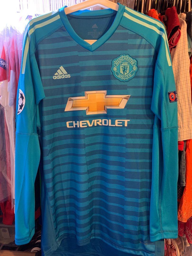 promo code 45d15 5cd32 Manchester United Goalkeepers Jersey away 2018 2019 David De ...
