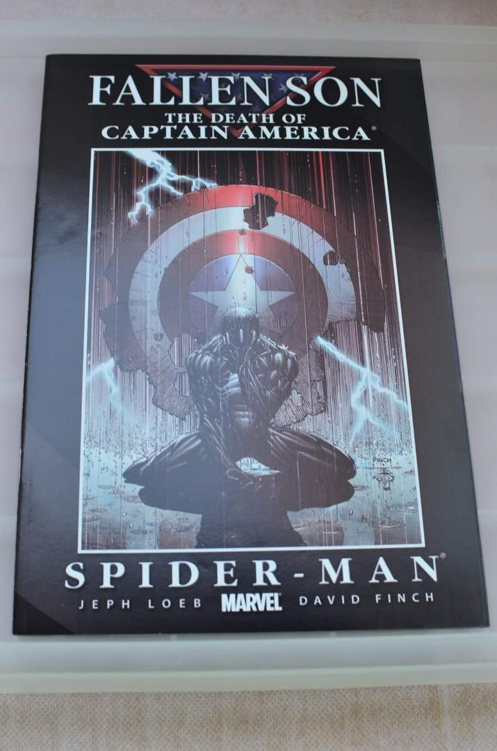 MARVEL COMICS FALLEN SON: THE DEATH OF CAPTAIN AMERICA (complete 5 issues + 1 variant)