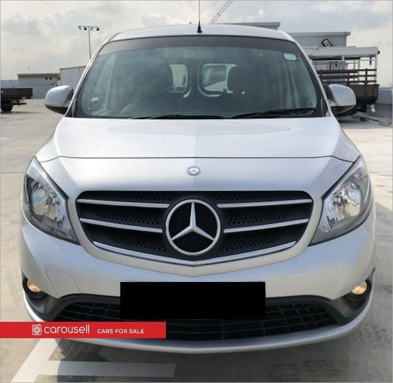 Mercedes Benz Citan 109 CDI Van Extra-Long 2 Seaters