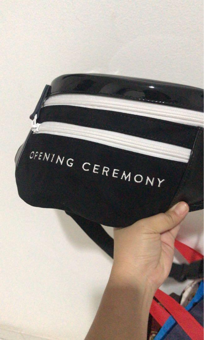 Opening ceremony waist bag, baru dipake 1 kali masih seperti baru, beli di store opening ceremony japan 2 bulan yg lalu