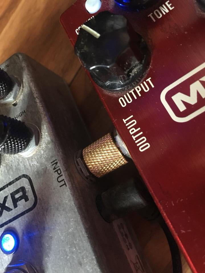 Patch Plugs (straight) for Guitar effects pedals