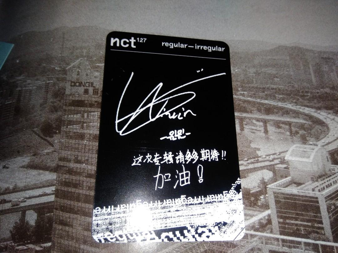 [Photocard] NCT 127 Regular-Irregular (WINWIN; Irregular Version)