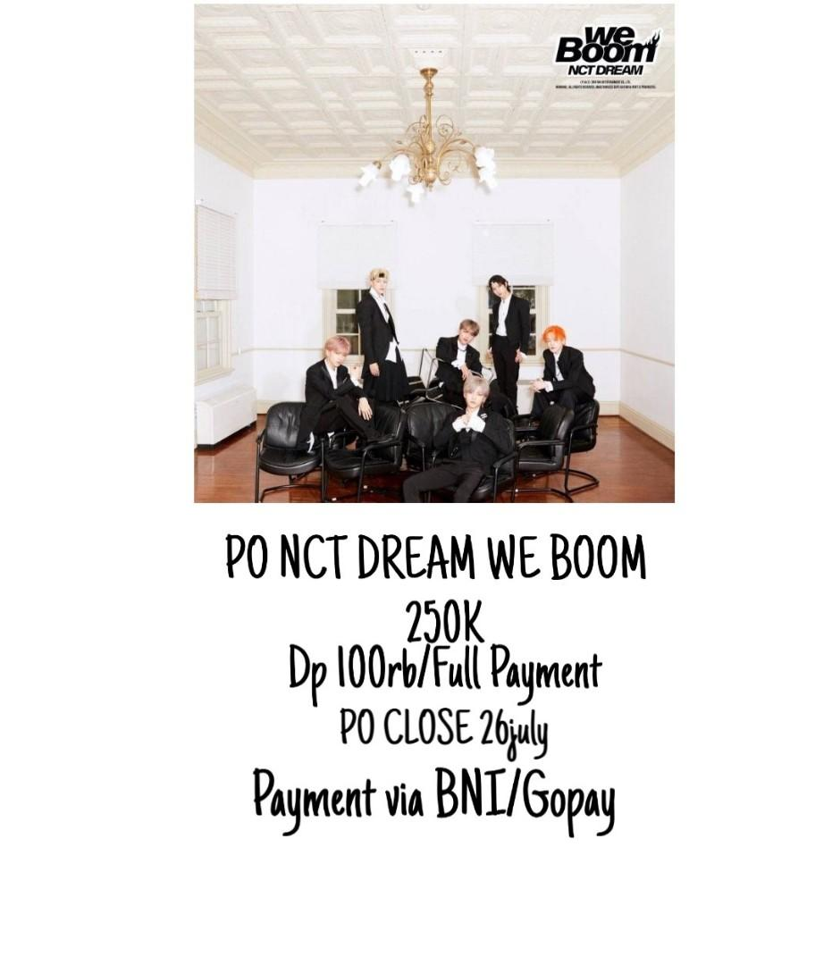 PRE ORDER BATCH 1 NCT DREAM WE BOOM DAN ITZY ITZ ICY