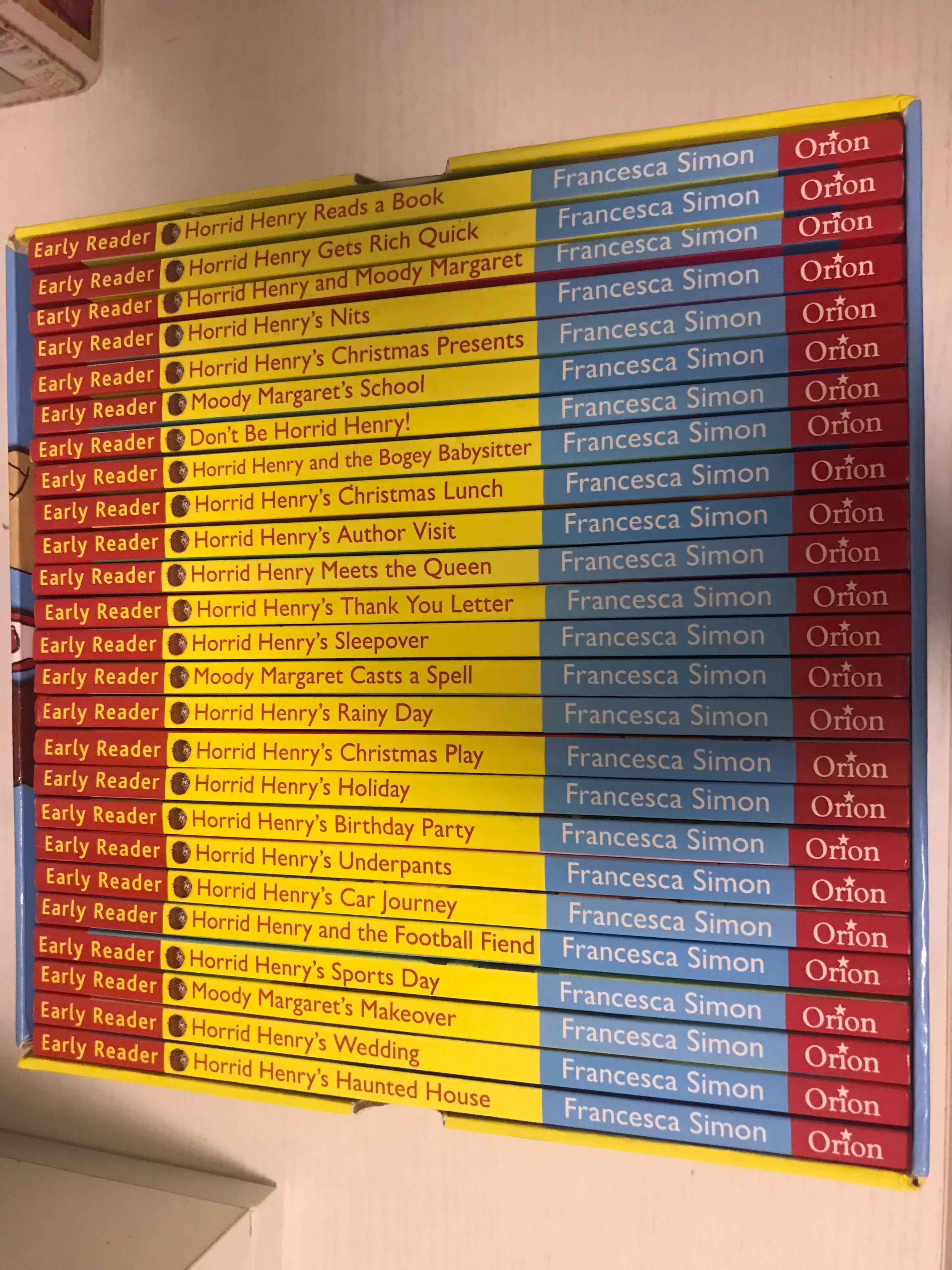 early readers - Horrid Henry series