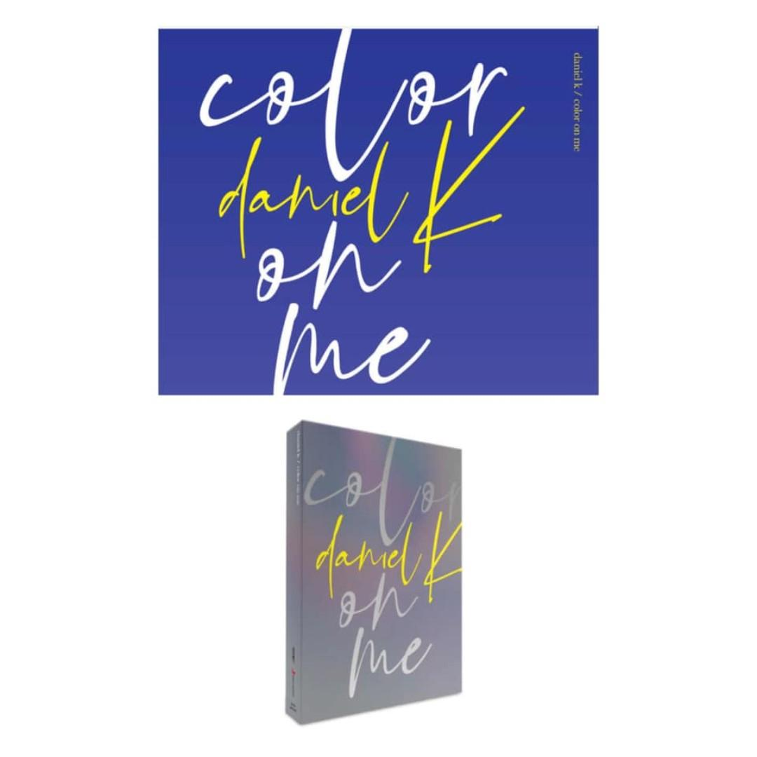 [Pre-order] KANG DANIEL 강다니엘 (1ST MINI ALBUM 미니앨범) - COLOR ON ME