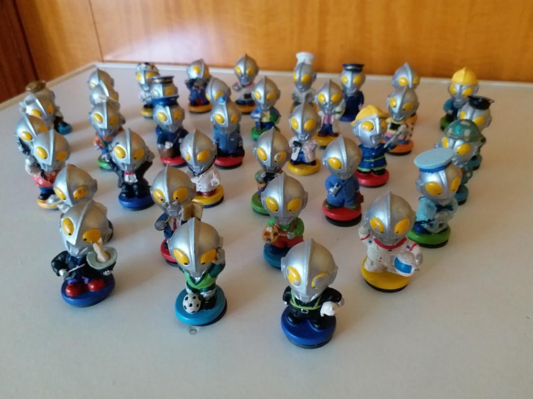 絕版珍藏Q版不同款35個鹹蛋超人