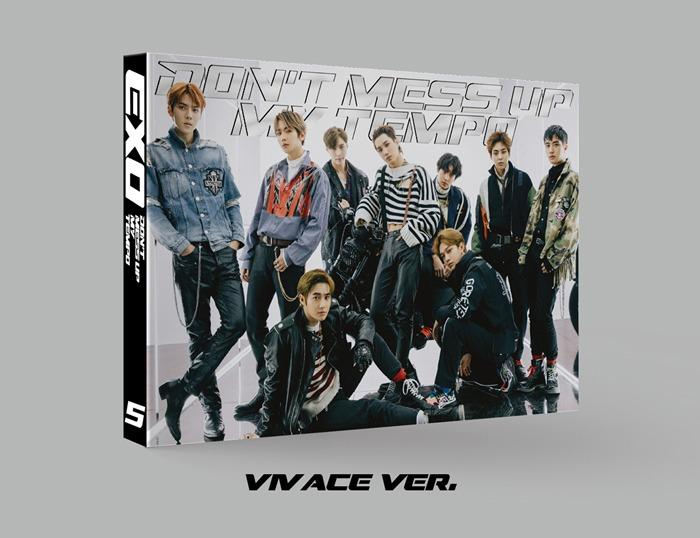 READYSTOCK EXO Vol. 5 - Don't Mess Up My Tempo (Vivace Ver.)