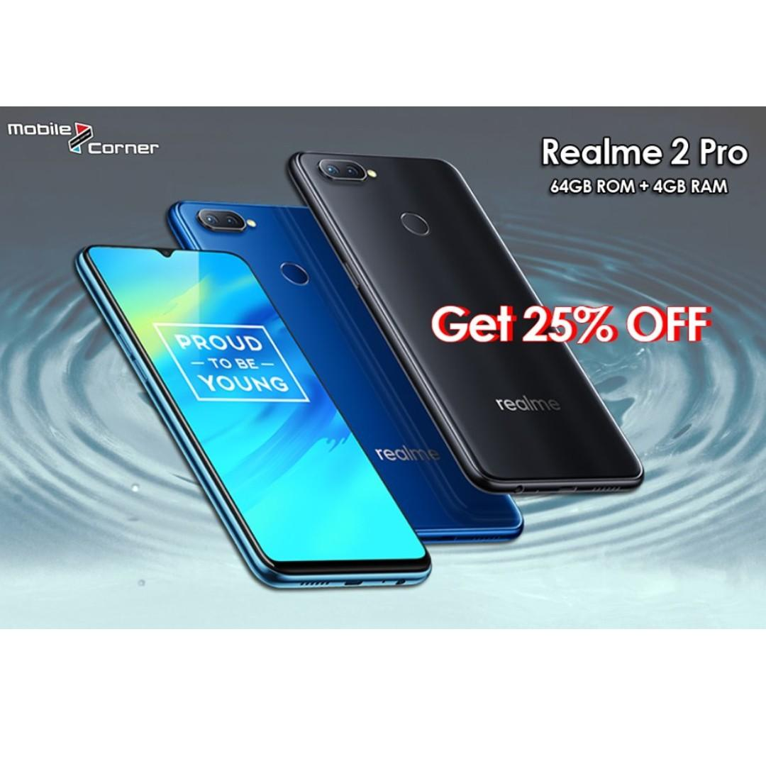 Realme 2 pro (4GB RAM+64GB ROM)The promo price RM599 only