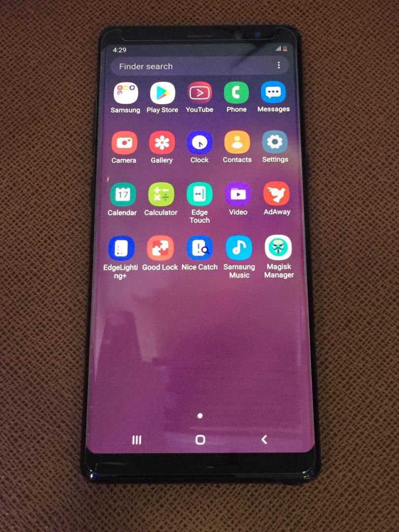 三星 Samsung Note 8 256GB Black 99%New