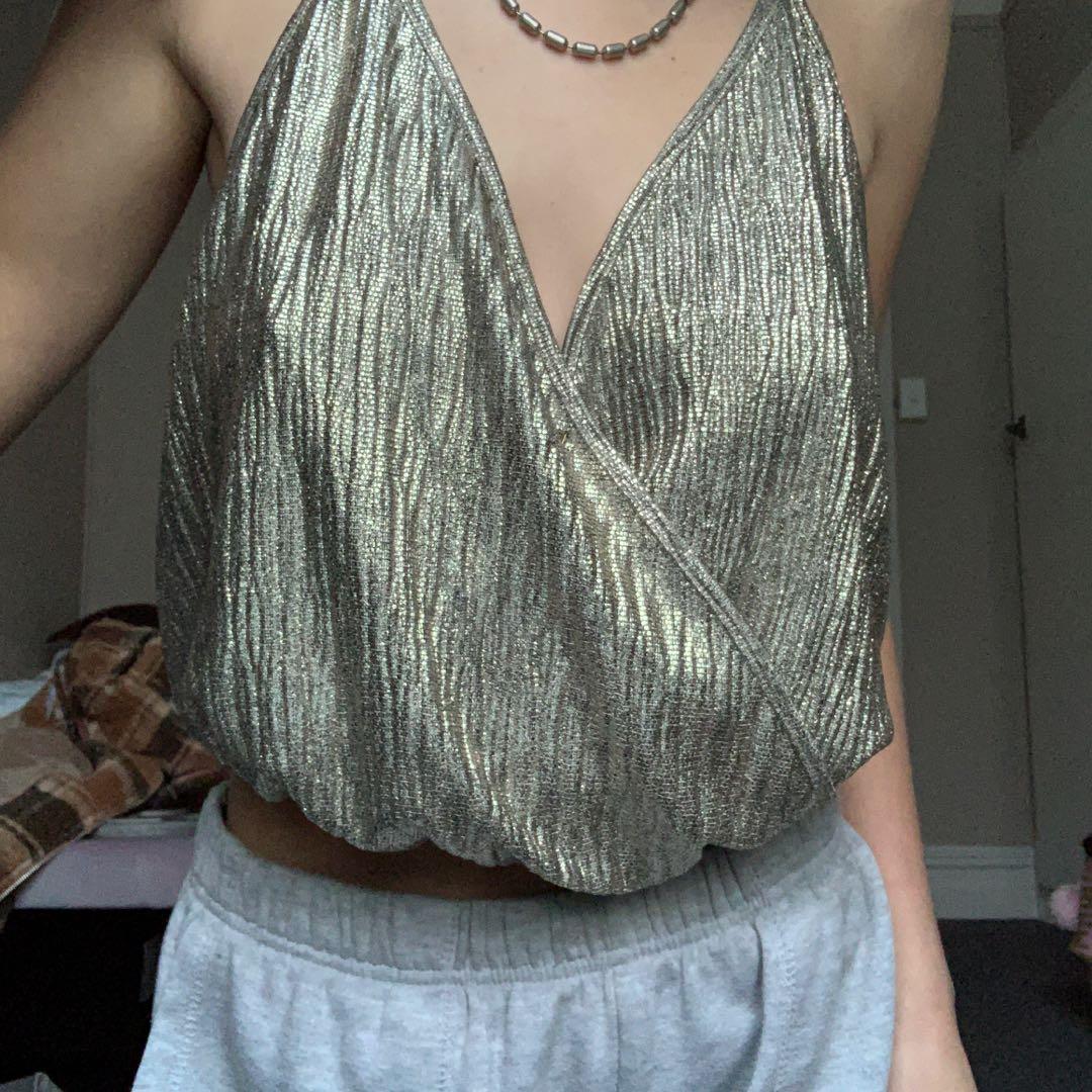Sparkly Zara top
