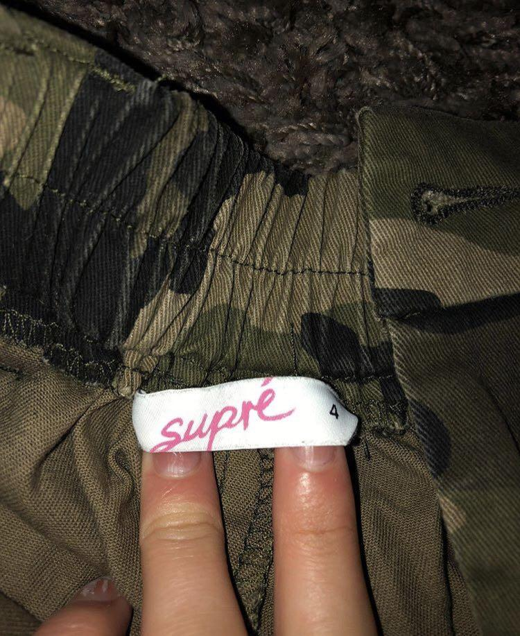 supre cargo pants