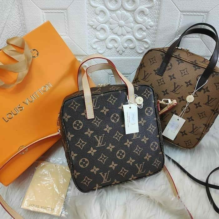 Tas Louis Vuitton LV nano sling bag free box import premium #joinjuli