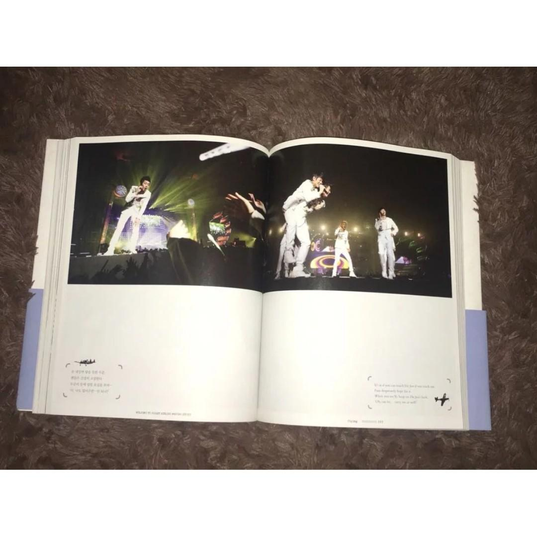 """The 1st Concert PhotoBook: """"Welcome To B2ST Airline"""""""