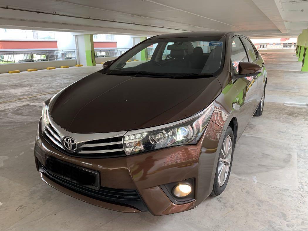 Toyota Altis 2016 model for Rent