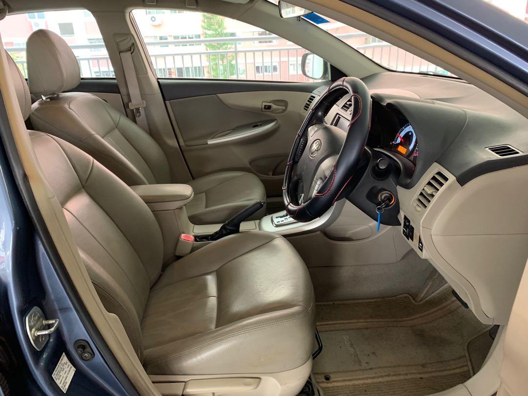 Toyota Altis Rental for Grab