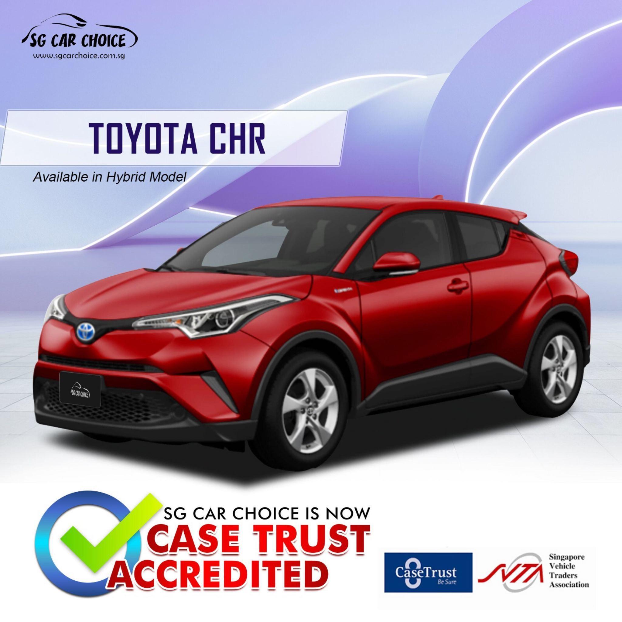 Toyota C-HR Hybrid 1.8 S (A)