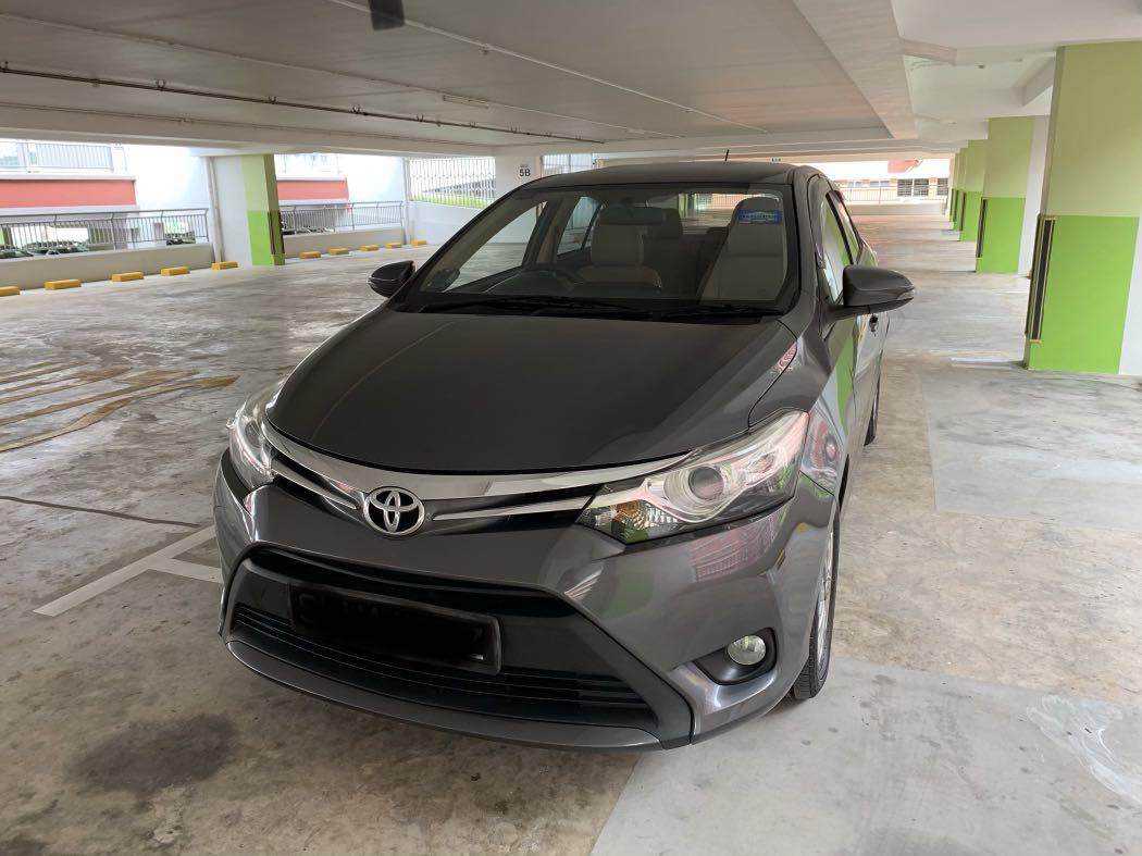 Toyota Vios Rental For private hirer