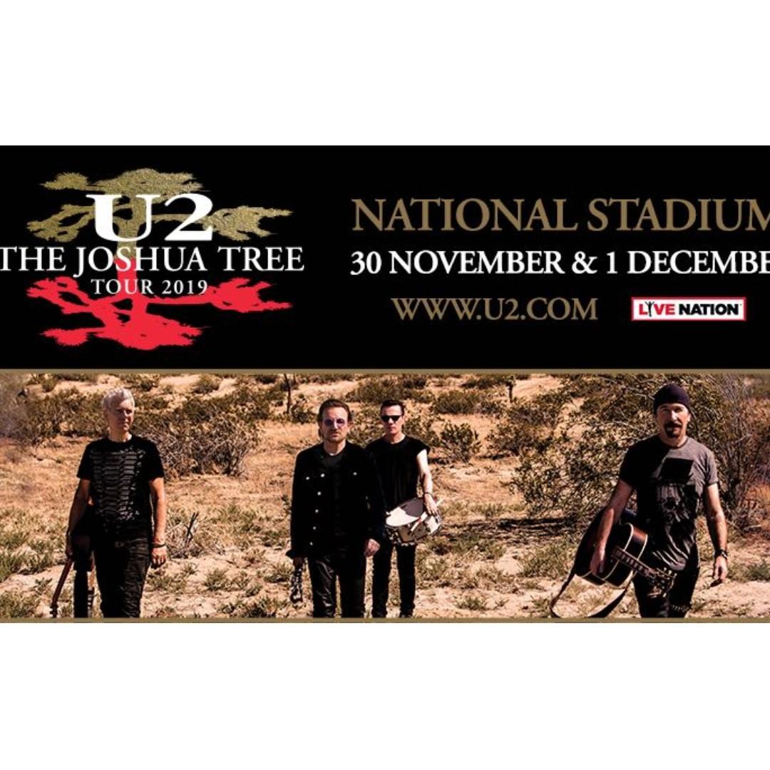 U2 concert cat 5