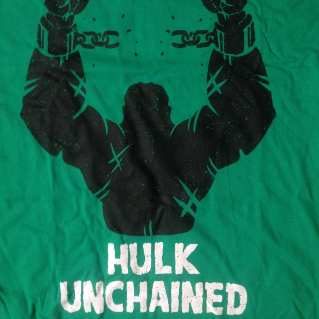 Unisex/Mens Tee M Green The Incredible Hulk/Django/Movie