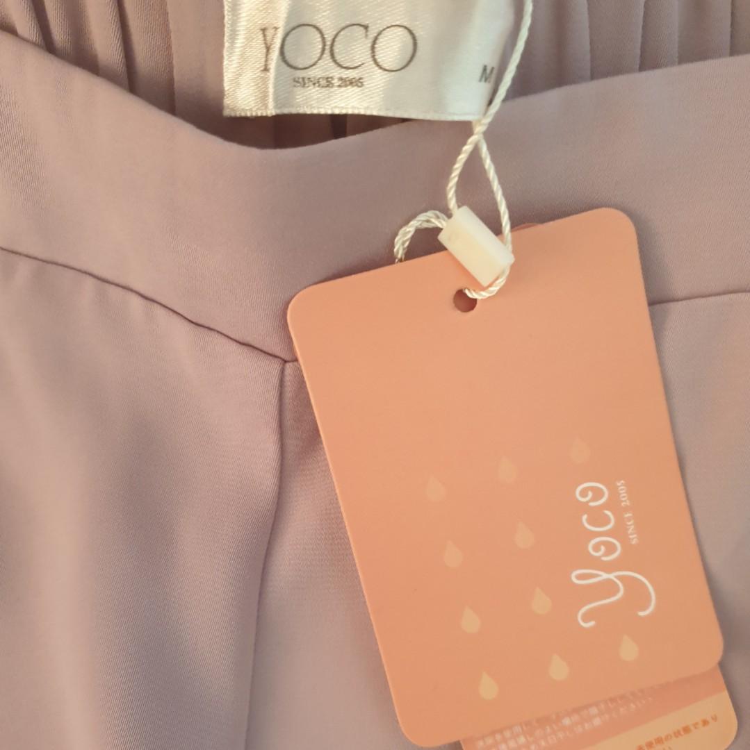 Women's size M 'YOCO' Stunning blush wide leg culottes - BNWT