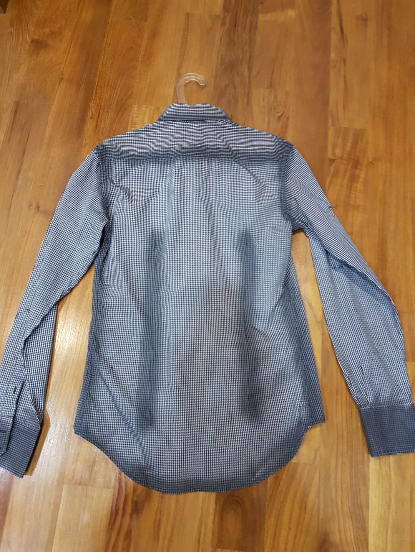 Zara Long Sleeve Shirt Kemeja Original