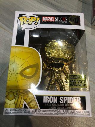 Funko Pop  Iron Spider Man 蜘蛛俠 Marvel