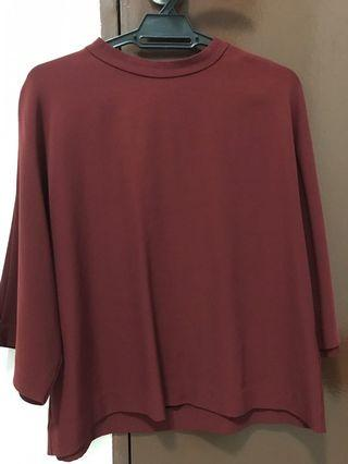 Uniqlo Red Top