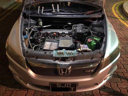🚚 Honda Civic/Stream/Crossroad 1.8FD Hurricane Air Filter n Spark plug Combo
