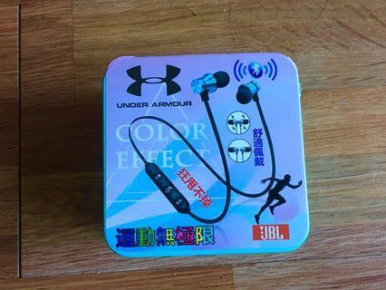 🚚 under armour 雙耳磁吸收納 藍芽耳機 運動無極限 舒適配戴