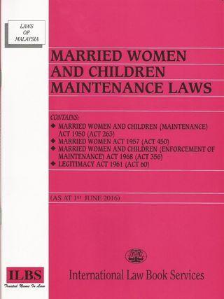 Law Book (Married Women & Children Maintenance Laws)