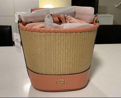Coach bucket bag (original)