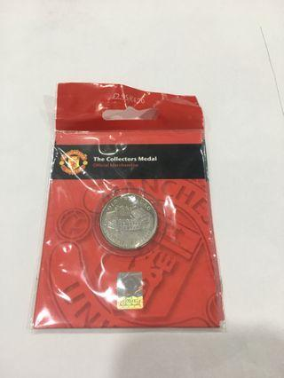 MUFC Official Merchandise - Collector Medal #CarousellFaster